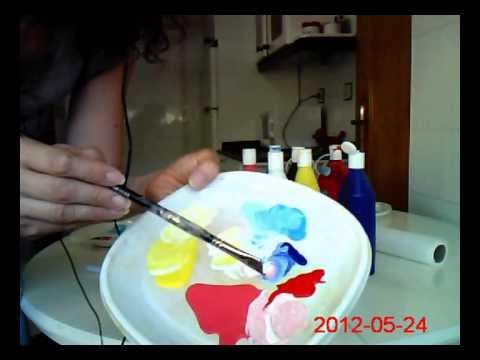 Mezclar Colores Cómo Usar El Blanco Para Aclarar Colores Mix Colors White Youtube