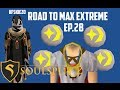 Road to Max Extreme | HFSkiezo SoulSplit 2 | Episode 28 | 98 Mining! | Cosmic Runes | P.Necklaces