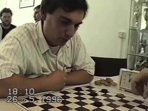 1996. Draughts tournament in Berlin