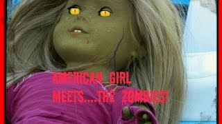 American Girl Doll Camping Roadtrip Adventure with...ZOMBIES!?!? AGSM