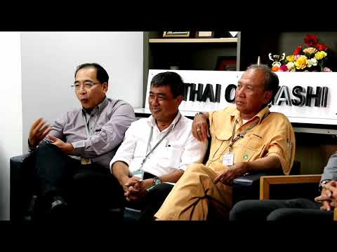 สัมภาษณ์ คุณอนุชา คุณทศพรและคุณปิยะ บริษัทไทย โอบายาชิ ศิษย์เก่าอุเทนถวายรุ่นที่45และ51