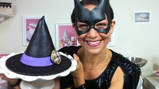 How-to Fashionista Witch's Hat Cake-mixing-it-up