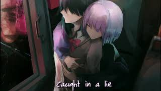 Nightcore  Lie (BTS Jimin) (Female Version) (Lyrics)