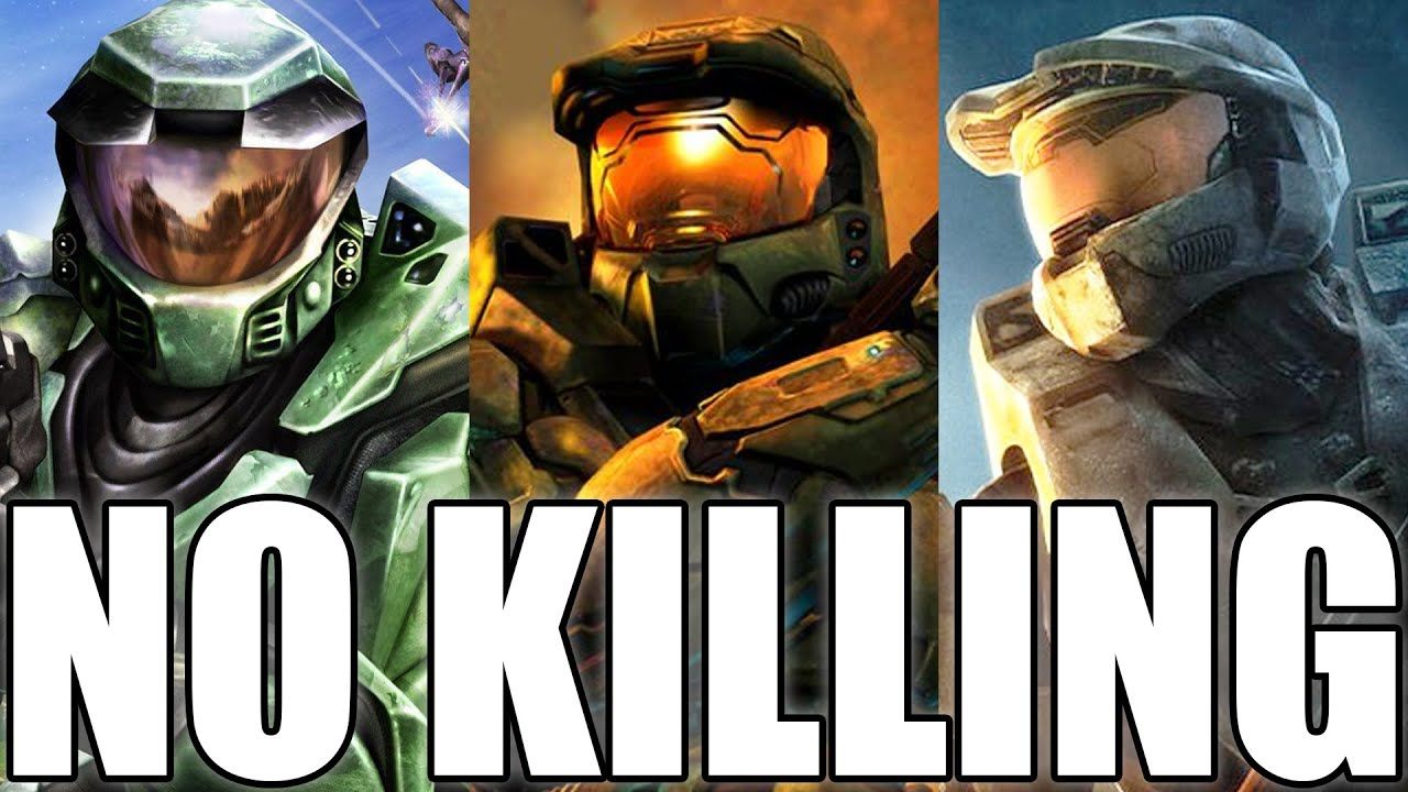 Beating The Halo Trilogy WITHOUT KILLING? (Halo CE, Halo 2, Halo 3 Pacifist)