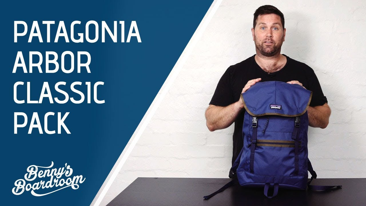 *NEW* 2018 Patagonia Arbor Classic Pack 25L Backpack Walkthrough | Benny's Boardroom
