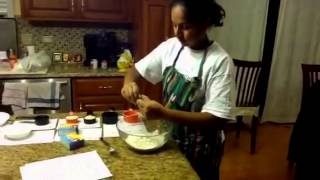 Anjali Drama Class - Making Simple Lemon Pudding Cookies