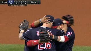 10/14/16: Lindor, Kluber lead Indians to Game 1 win