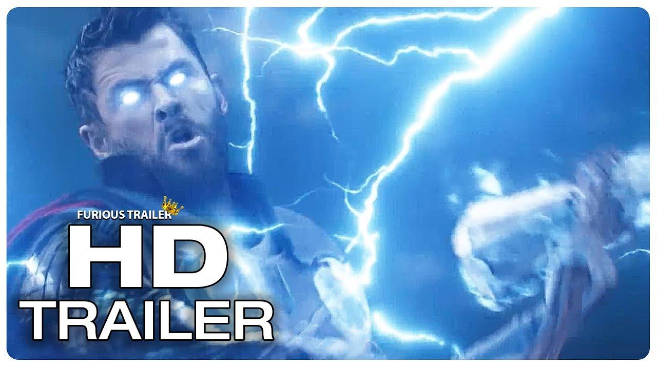 Avengers Infinity War Thor Stormbreaker Wakanda Fight Scene Trailer