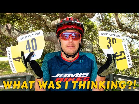 I raced ALL the MTB events at Sea Otter...on the same bike!