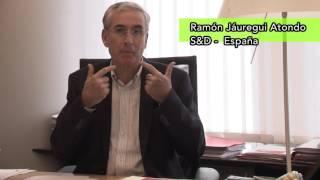 El Eurodiputado Ramón Jáuregui apoya la paz en Colombia.