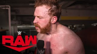 Sheamus feels effects of showdown against Drew McIntyre Raw Exclusive Sept 6 2021