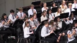 The A.I. Root Middle School Band performed at the Fall Concert An H...