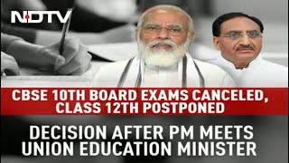 CBSE Exams 2021: Class 12 Board Exams Postponed, Class 10 Exams Cancelled