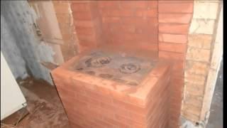 Кладка дачной кирпичной печи и барбекю своими руками.(Огромный выбор проектов, каминов, печей, барбекю, на сайте: http://bit.ly/1GYo9xk Тэги для этого видео: проекты камин..., 2015-06-29T07:46:21.000Z)