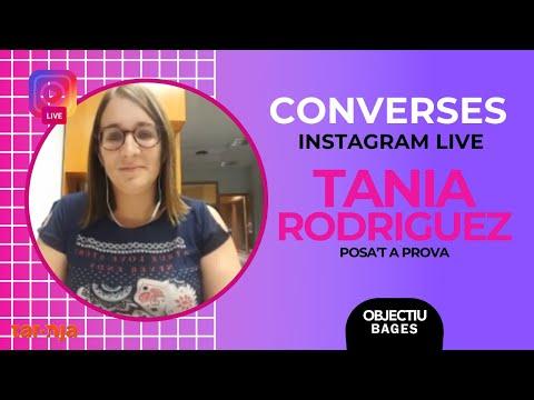 Instagram Live amb Tania Rodriguez (Posa't a Prova) | Objectiu Bagesиз YouTube · Длительность: 20 мин17 с