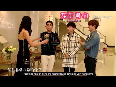 Liu Wen & Siwon's EP 1 BTS (with Leeteuk, Kangin & Zhoumi)