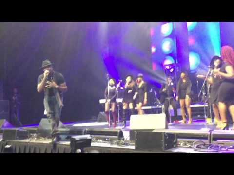 Banky W Performs Live in Houston at ONE AFRICA MUSIC FEST