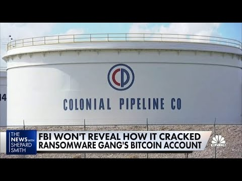 Download Feds recover 'majority' of ransom money from Colonial Pipeline hack