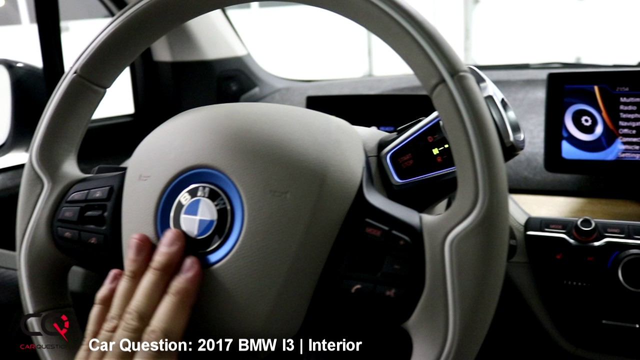 2017 bmw i3 with rex interior review the most complete review part 2 7 youtube. Black Bedroom Furniture Sets. Home Design Ideas