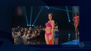 Miss Canadá quebra padrões de beleza e rouba a cena no Miss Universo