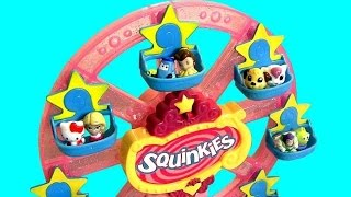 Squinkies Amusement Park, Water Park, Water Slide Mall Surprise Playset By Funtoys