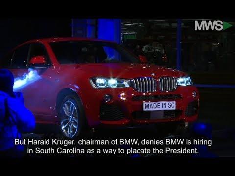 BMW is Adding 1,000 Jobs at South Carolina Plant