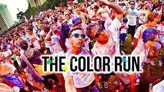 The Color Run Indonesia Highlight - Jakarta 26th January 2014