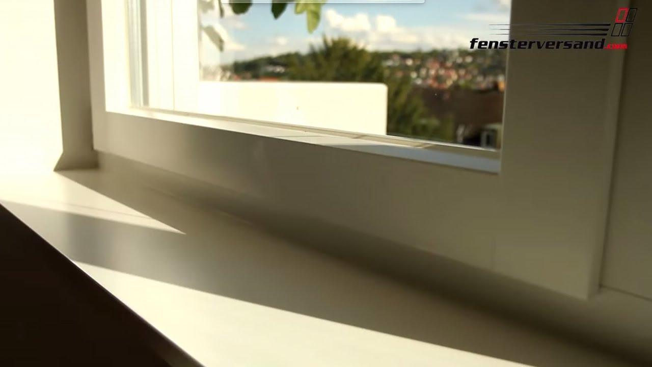 Innenfensterbank Werzalit - Produktvideo - fensterversand.com TV ...