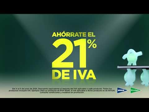 Ahórrate el 21% de IVA   Mañana Viernes 4 y sábado 5 de junio en El Corte Inglés