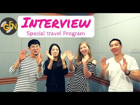 [VLOG COREE] - GFN RADIO INTERVIEW - Travel Special Program - coree
