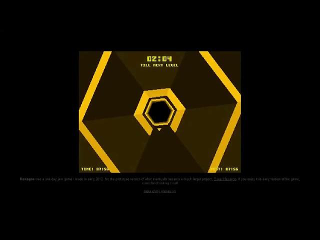 [Tryhard] : Hexagon (67 secondes)