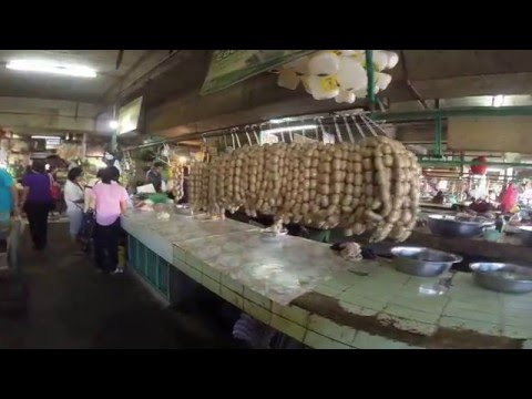 Laoag City Meat Market Shopping