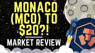 Monaco (MCO) Token Up Over 50% For The Day! Coin Break-Down & Market Review | Altcoin News