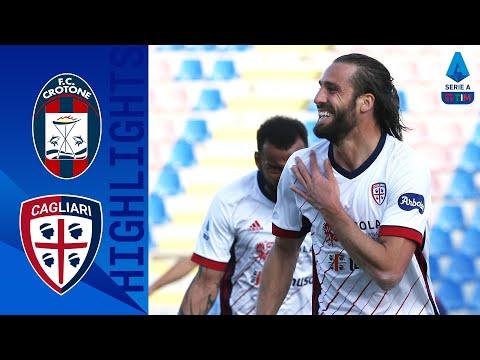 Crotone Cagliari Goals And Highlights