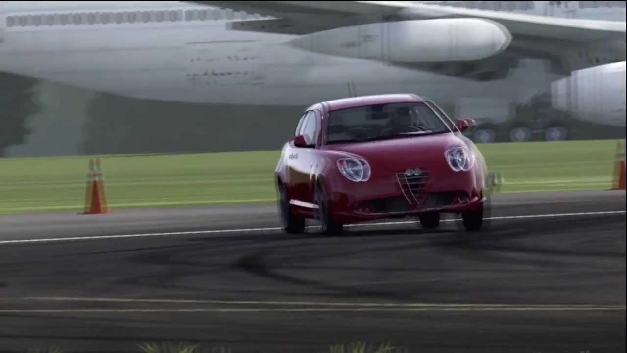 Alfa Romeo Mito Top Gear Track Youtube