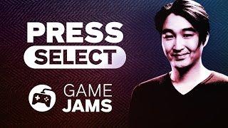 Game Jams - Wenn ein Videospiel in nur 24 Stunden entsteht | Press Select #04