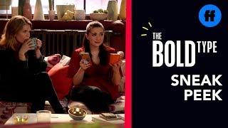 The Bold Type Season 3, Episode 8 | Sneak Peek: Kat Tells Sutton & Jane About Adena's Text