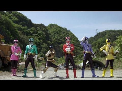 Super Megaforce Gold Ranger and Silver Power Ranger Team Tribute