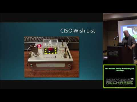 415 Hack Yourself Building A Pentesting Lab David Boyd