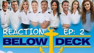 BELOW DECK: THAILAND SEASON 7 Episode #2 REACTION | Lisa Marie