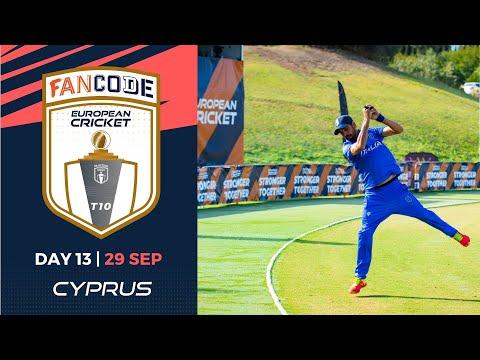 🔴 FanCode European Cricket T10 Cyprus,  Limassol | Day 13 T10 Live Cricket