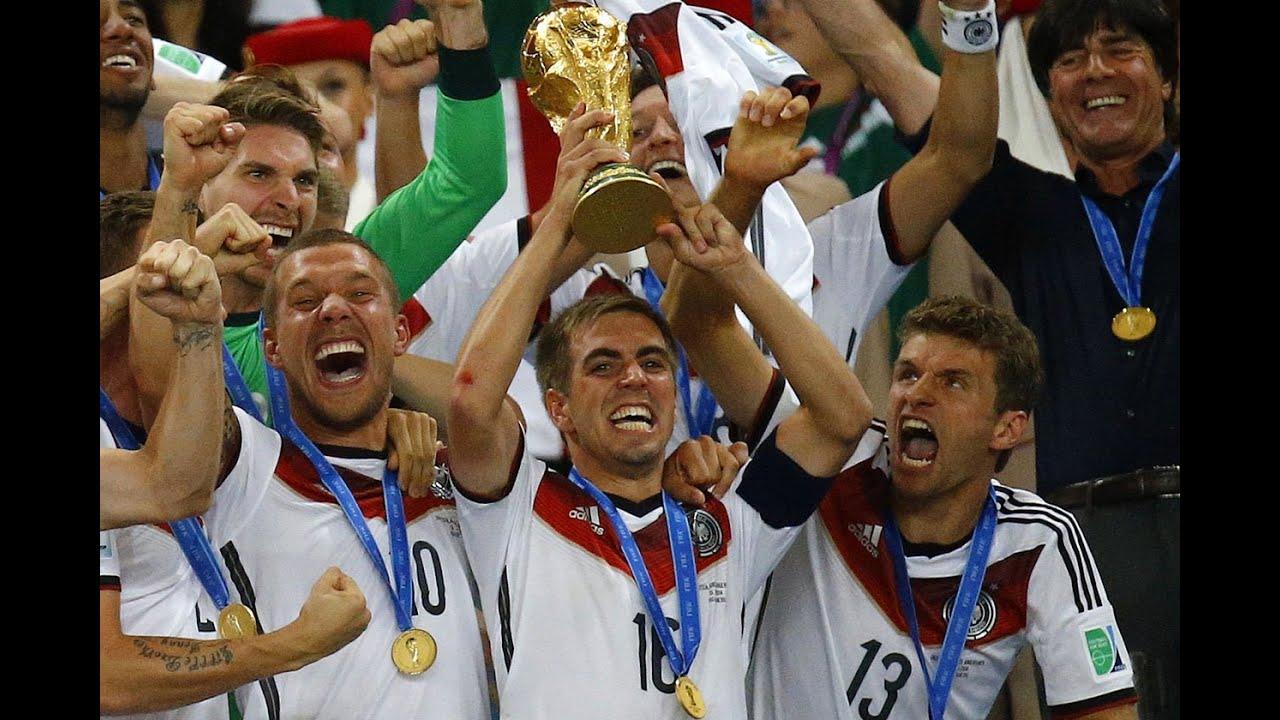 Olé, Olé, Olé, Olé We Are The Champions Germany