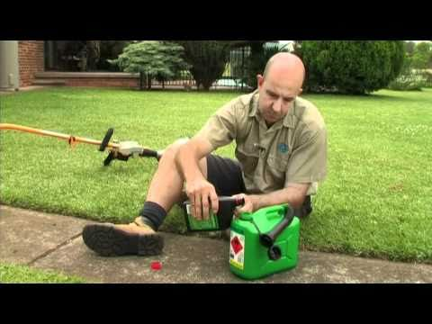 RYOBI: How to mix and store 2 stroke fuel