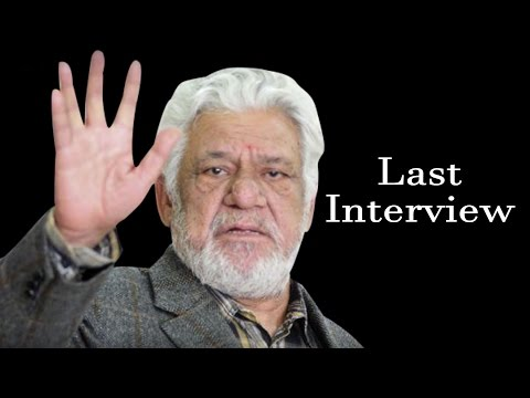 Late Om Puri's LAST EMOTIONAL INTERVIEW | Video