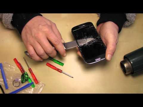 Samsung Galaxy S3 Displayglas wechseln
