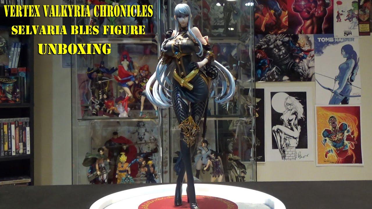 Valkyria Chronicles Selvaria Bles Battle Mode Vertex 1//7 PVC Figure New In Box