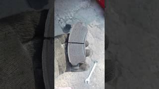 Тормозные колодки NIBK на Toyota Camry Sv41 меняем на Akebono (оригинальные)