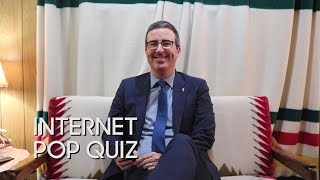 Internet Pop Quiz with John Oliver thumbnail