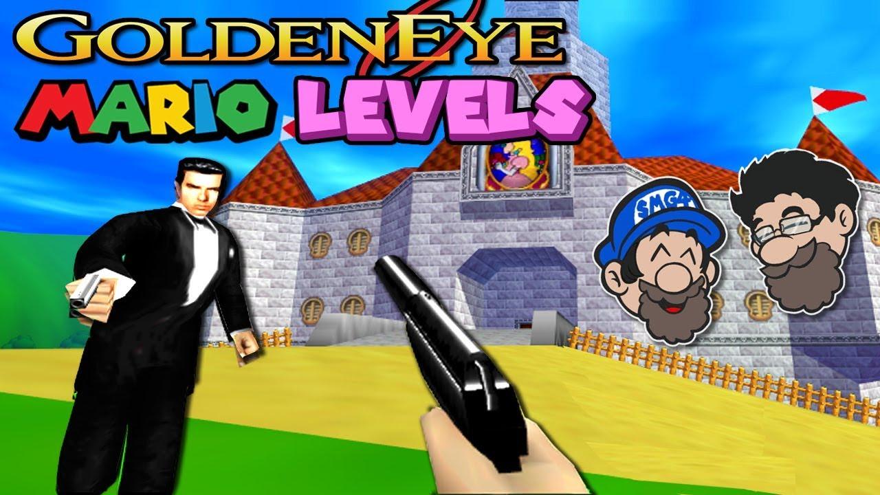 A SUPER MARIO SHOOTER!?    GOLDENEYE 007 for N64