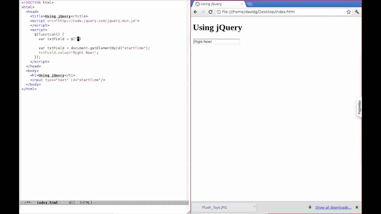 Using jQuery: using selectors to find elements by id